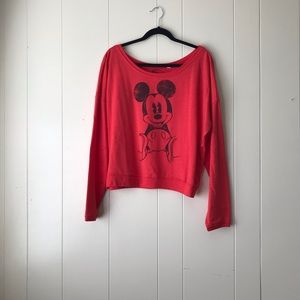 *NWT* Mickey Mouse Red Sweater